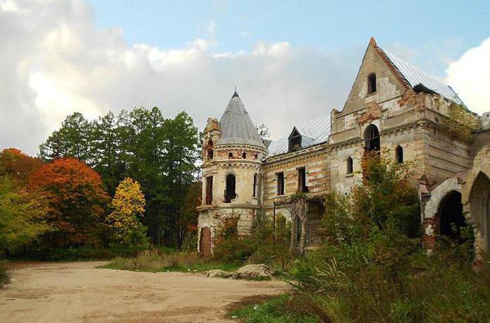 Самые прекрасные замки Рф (фото)