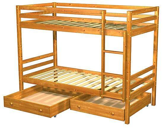 кровать чердак детская своими руками
