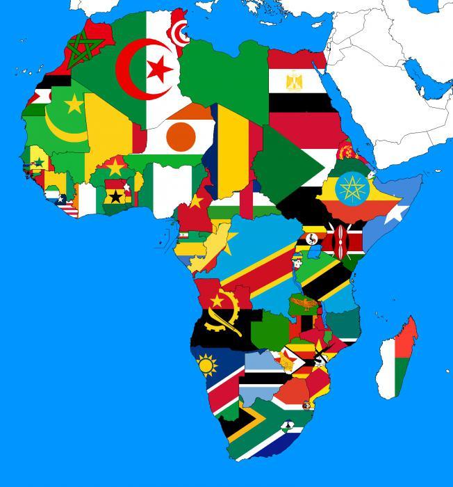 флаги африки фото с названием молодой женщины, которой