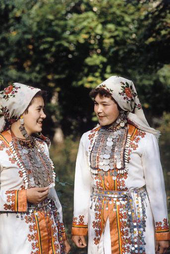 традиционные костюмы народов поволжья марийский