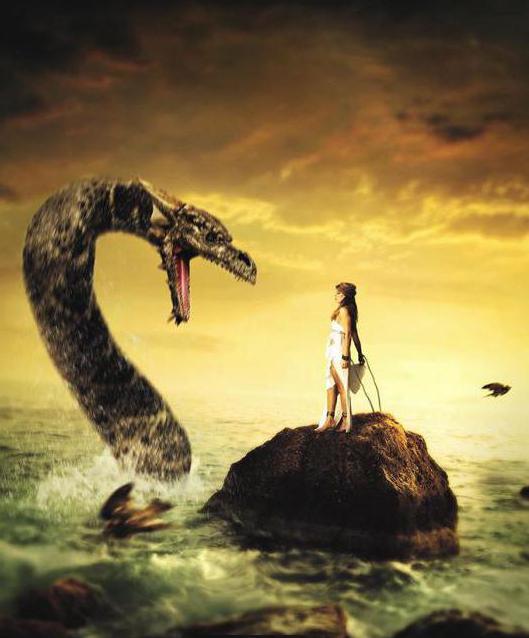 андромеда греческая мифология