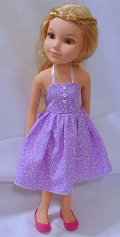 Как быстро сшить платье для куклы фото 60