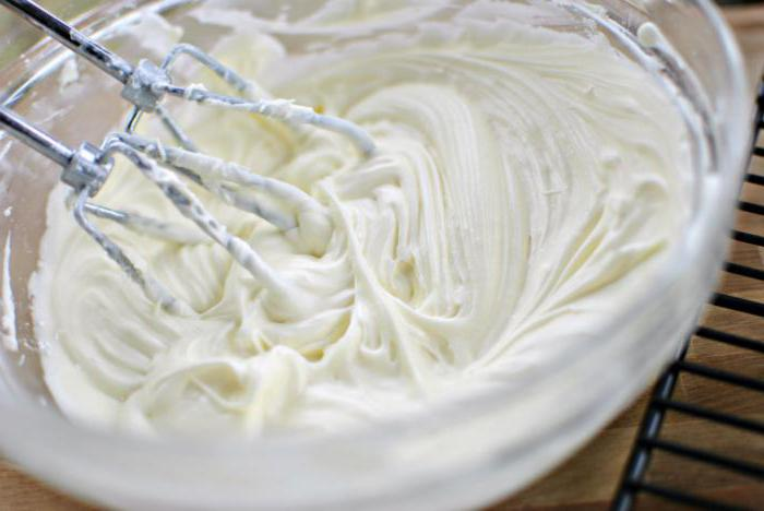 сырный крем для торта