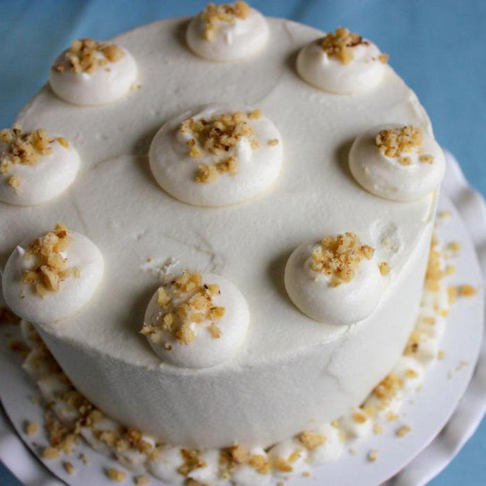 рецепт вкусного торта с сырным кремом