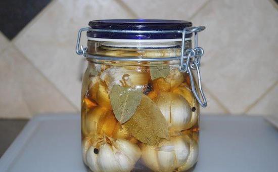 Маринованный чеснок рецепт быстрого приготовления