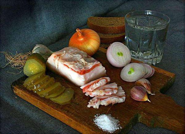 рецепт вкусного сала