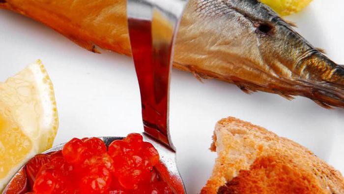 красная рыба красная икра
