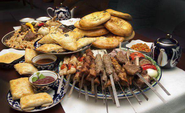 Узбекские блюда из мяса