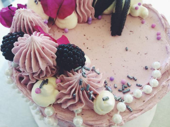Украшения из безе для торта с фото