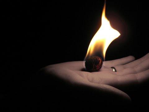сделать холодный огонь