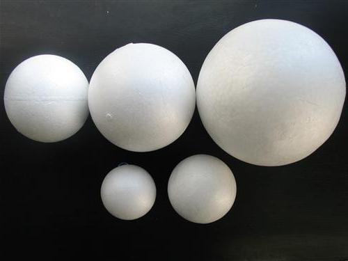 пенопластовый шар