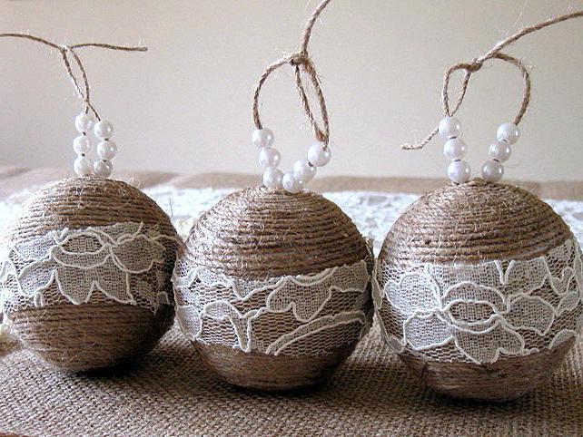 декор пенопластовых шаров