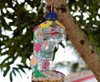 как сделать кормушку своими руками из бутылки