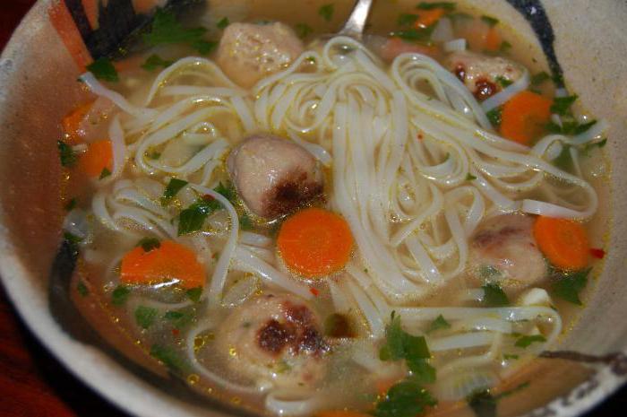 суп с фрикадельками рецепт с обжаркой фрикаделек