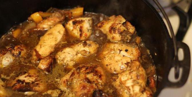 Курица в соусе на сковороде  вкусный рецепт с пошаговым фото