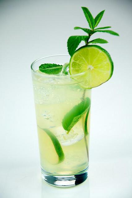 Настойка мяты и лимона