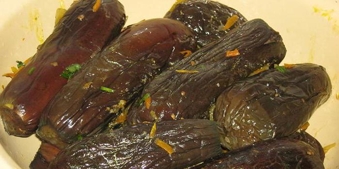 Быстрый рецепт засолки баклажанов