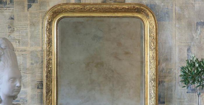 Как состарить зеркало - несколько действенных способов