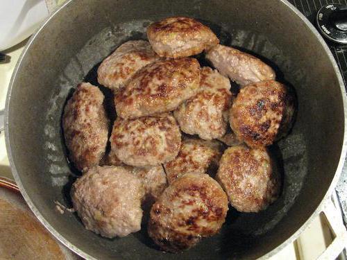 паровые котлеты из говядины диетические в духовке