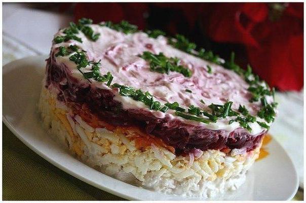 мой генерал салат с мясом