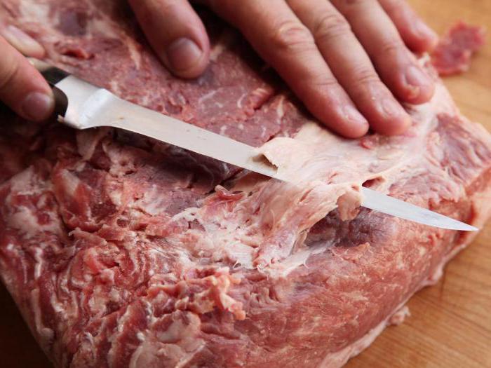 рубленое мясо