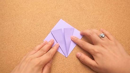 как делать из бумаги журавликов