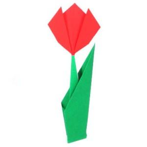 оригами легкое цветок