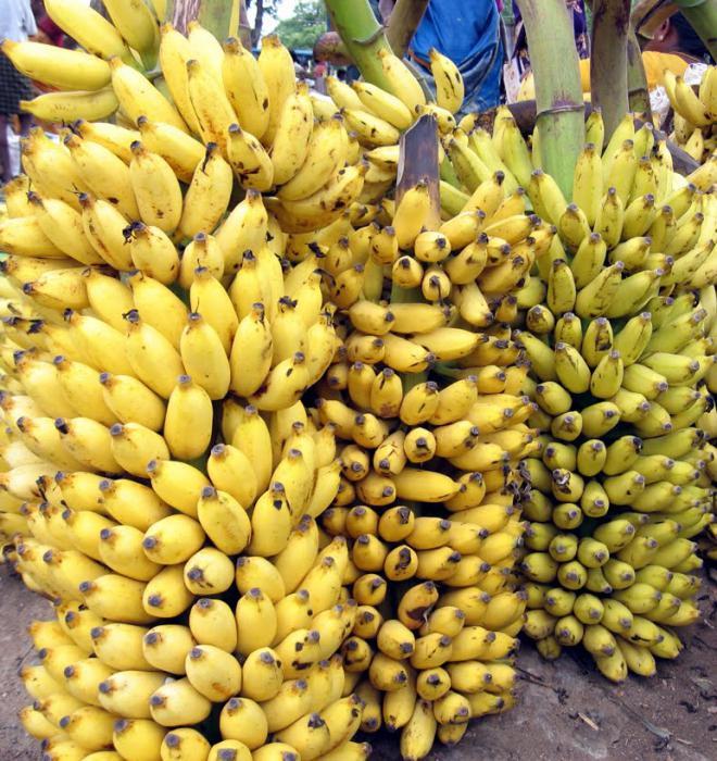 Сколько углеводов в банане