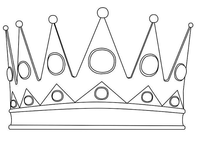 как нарисовать корону поэтапно