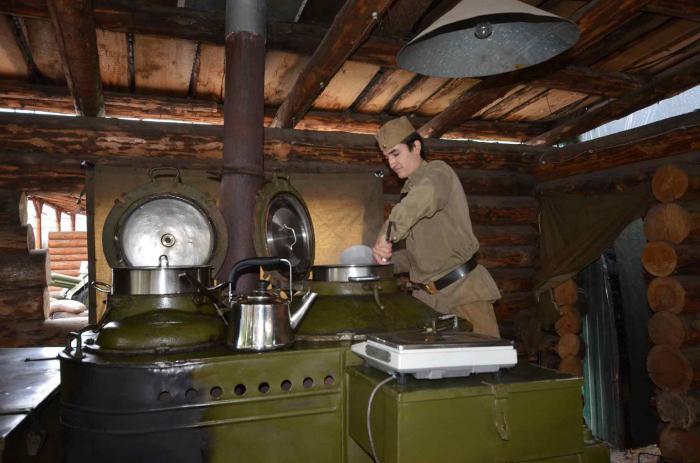 военно полевая кухня