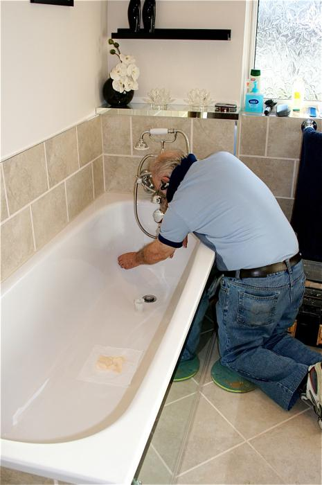 Реставрация акриловых ванн своими руками