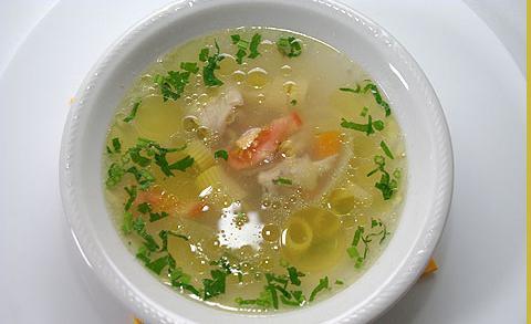 как приготовить суп из толстолобика