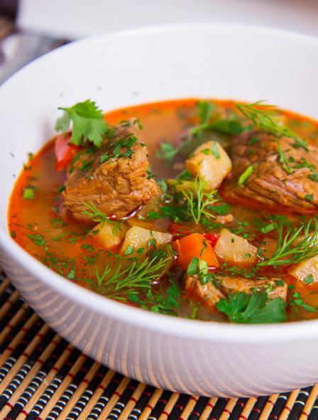 Венгерский суп-гуляш: рецепт