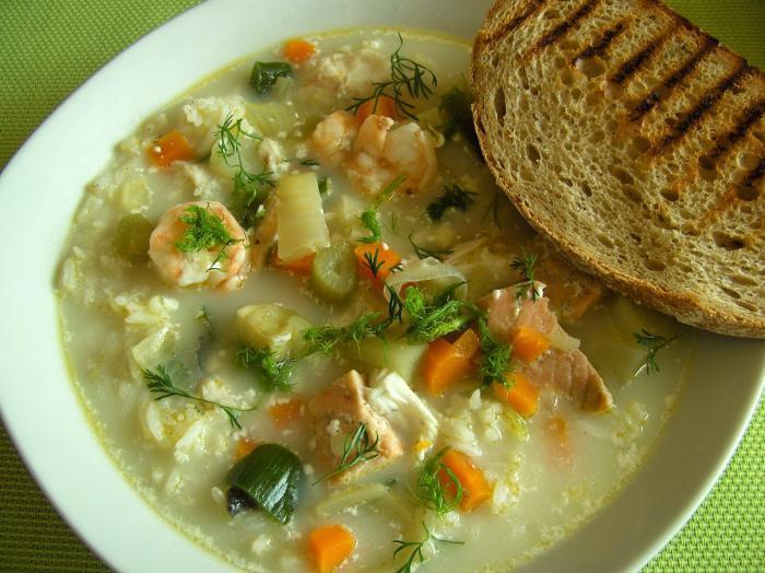 финский суп с горбушей и сливками рецепт с фото