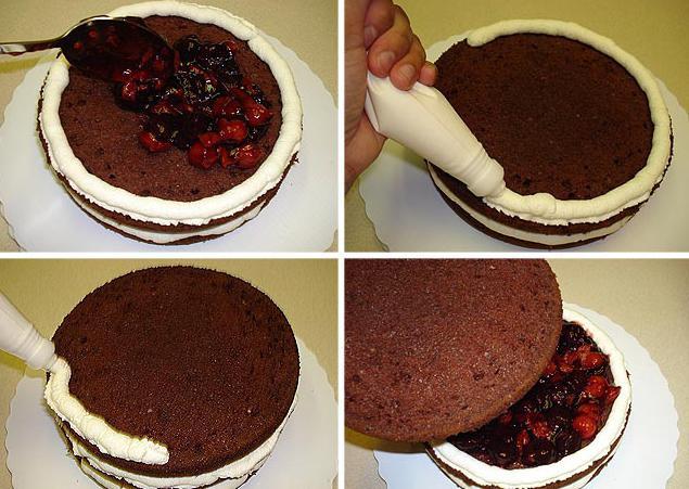 Торт шварцвальд классический рецепт с фото