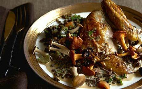 мясо цесарки - рецепты, статьи на