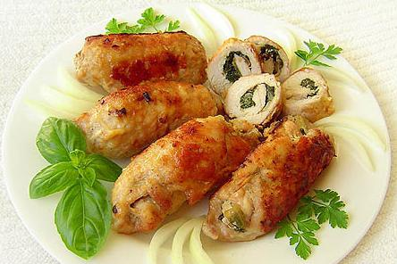 пальчики из свинины с начинкой рецепт в духовке