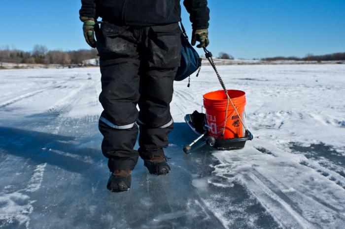 аксессуары и экипировка для зимней рыбалки