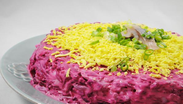 салат царская шуба рецепт
