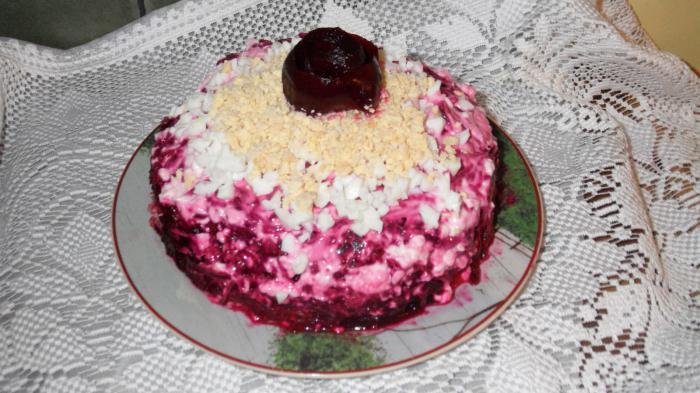 шуба по царски салат