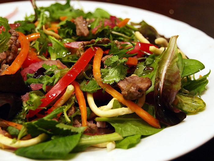 Мясо по деревенски салат рецепт с