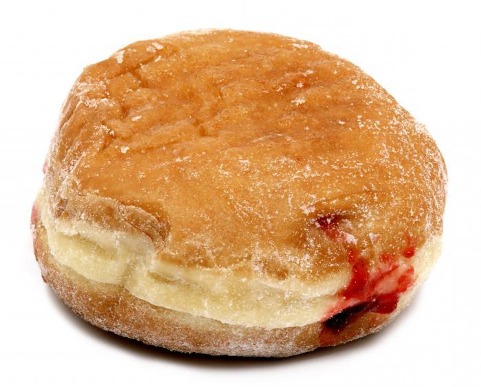 рецепт пончиков с мясом на дрожжах