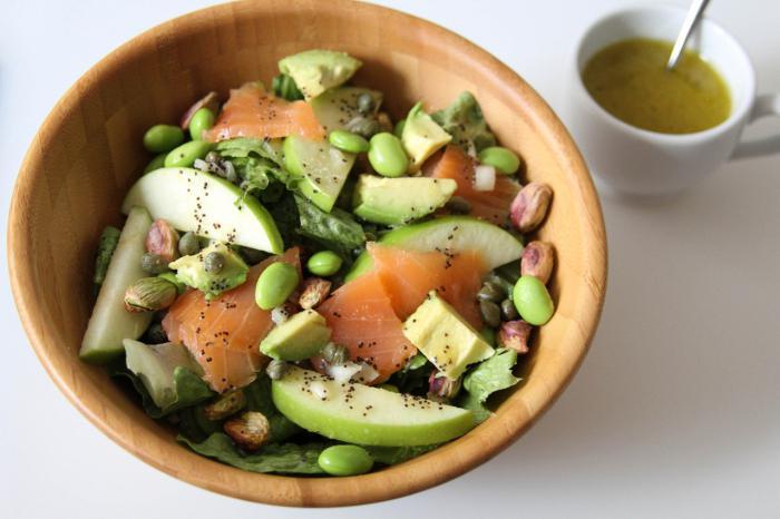 рецепт семга авокадо