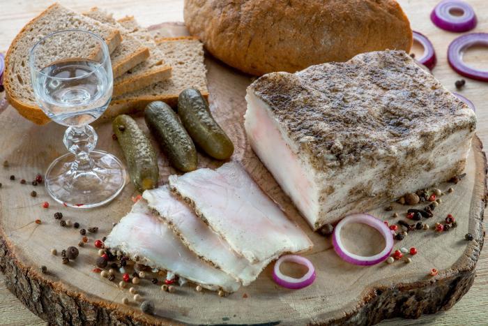 сало по украински рецепт приготовления
