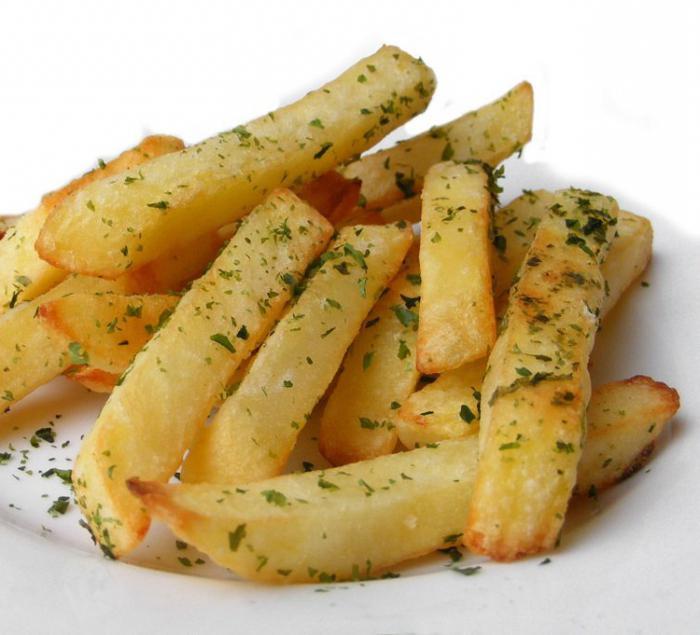 картошка фри на фольге в духовке рецепт