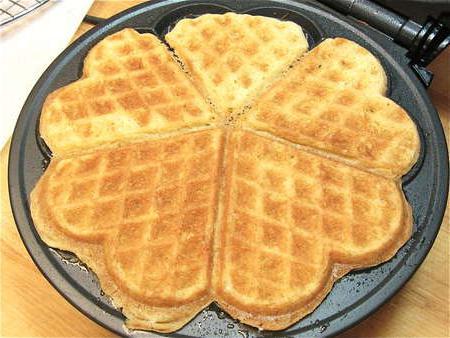 Печенье в вафельнице: рецепт с фото пошагово