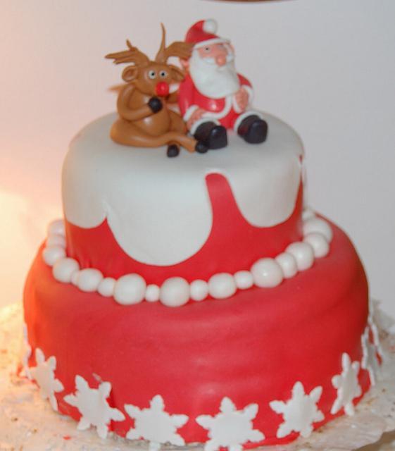 Двухъярусные торты на день рождения