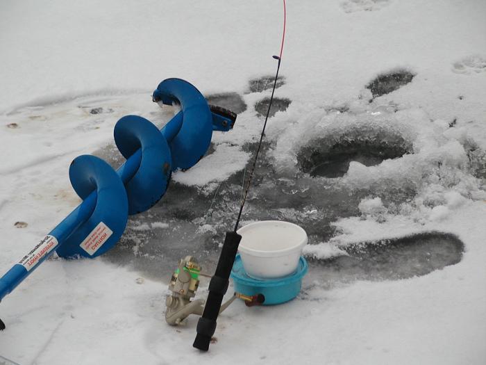 снасти для ловли леща зимой коромысло