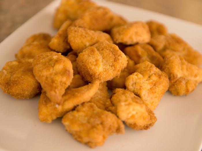 наггетсы из индейки в духовке рецепт с фото