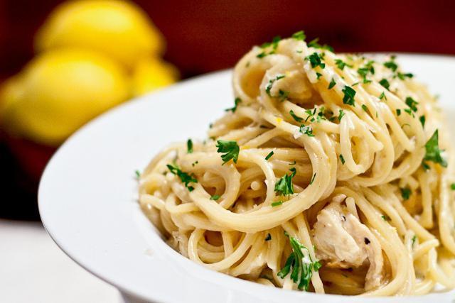 как приготовить спагетти с курицей